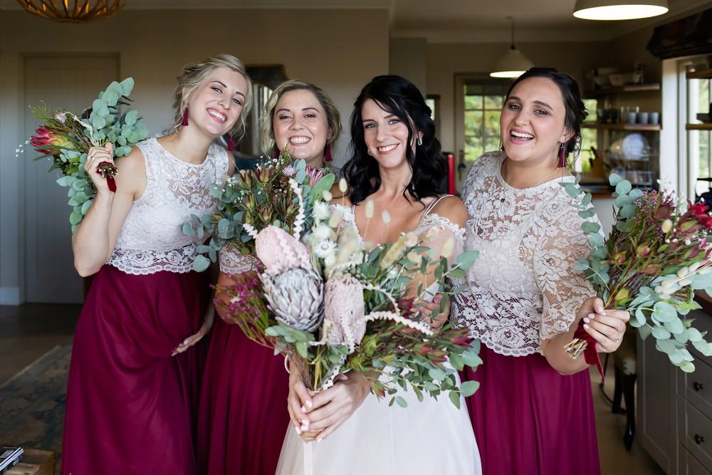 Cherry Glamping wedding bride tribe