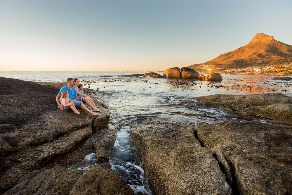 Cape Town family photo shoot Lions Head