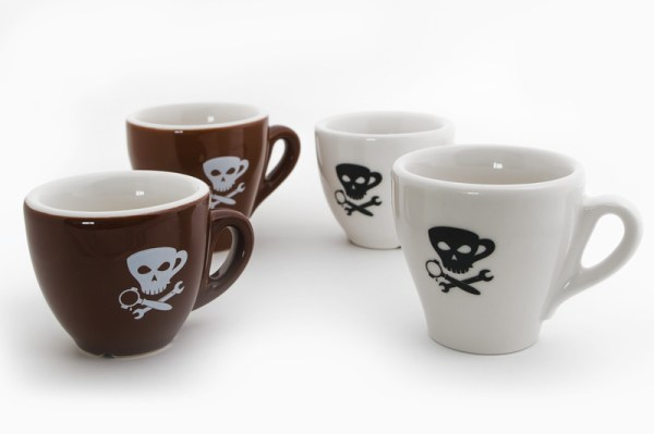 EP Porcelain Demitasse with Skull Print: Brand new from Espresso Parts and only available for a limited time.