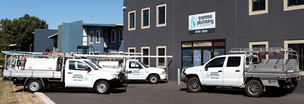 Express Plumbing Bunbury, Home Page, Main Image