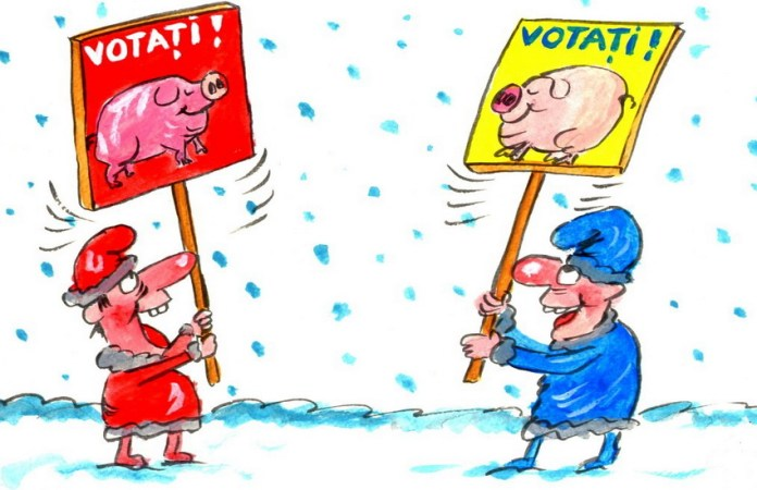 campania preelectorală