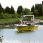 Parasail boat