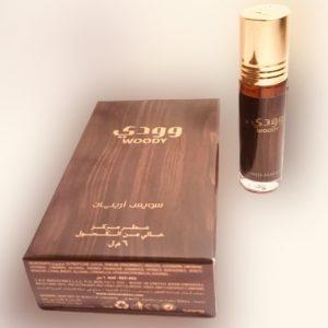 WOODY, ROLL ON PERFUME OIL 6 ML Swiss Arabian Perfume