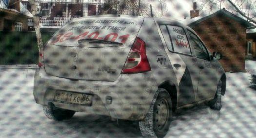 Renault Sandero 2012, серый, В311ХС86
