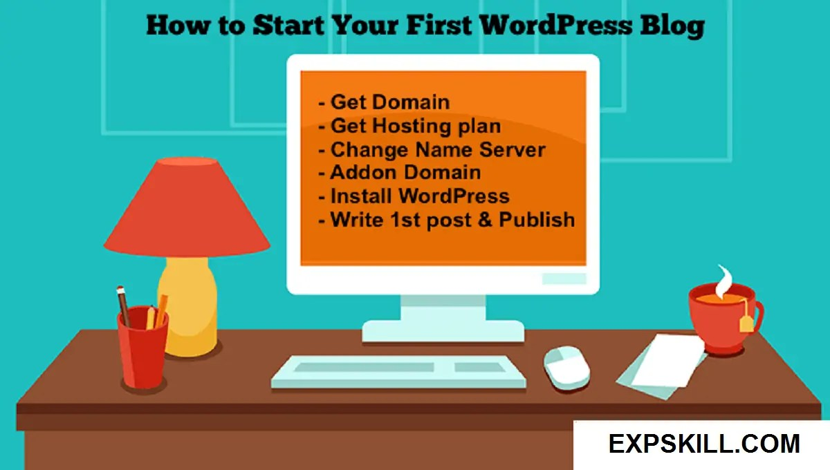 Write your first blog