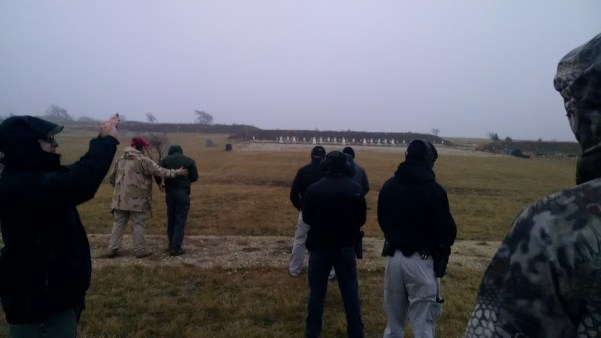 100-yard shots at d5 handgun class