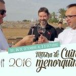 MOSTRA DE CUINA MENORQUINA 2016