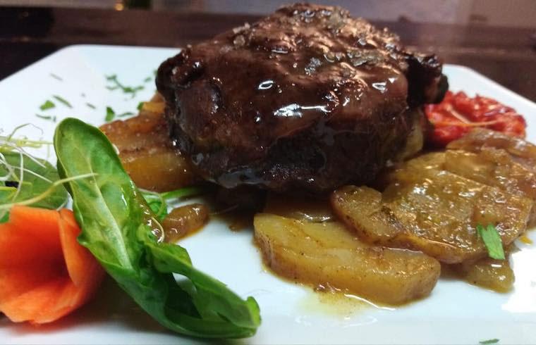 Botanic Restaurant Carne de Ternera Exquisita Menorca