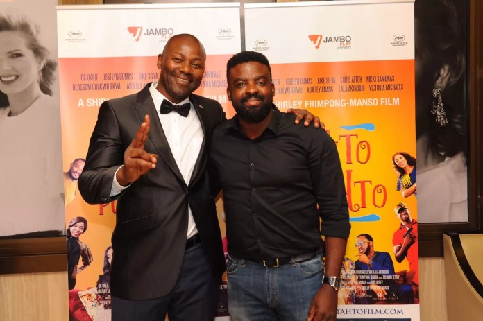 George Williams of WB Entertainment and Renowned filmmaker Kunle Afolayan