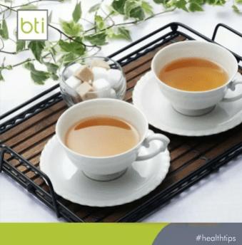 Tea at BTI Lagos