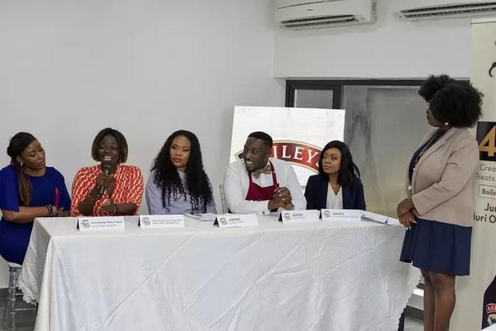 Portfolio Director Spirits, Diageo - Adenike Adebola giving her speech (1)