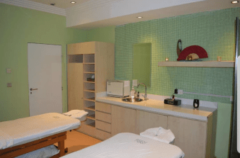 Pamper room at the Four points