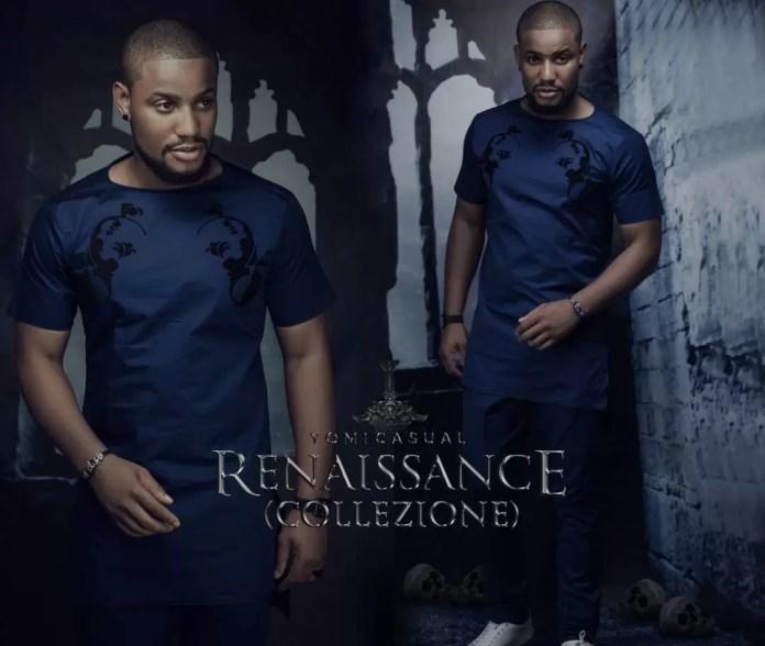 Fashion - Yomi Casual Debuts 2017 Collection 'Renaissance' featuring Zack Orji, Alex Ekubo, IK Ogbonna and Ebube Nwagbo 2