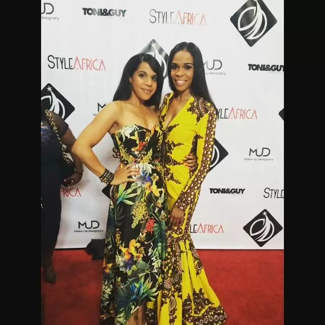RUNWAY TO REDCARPET: AGBANI DAREGO, MICHELLE WILLIAMS, SEYI SHAY, LIL MAMA, CANDACE BUSHNELL BRINGS FULANI FASHION DRESSES OFF THE RUNWAY ONTO THE RED CARPET 10