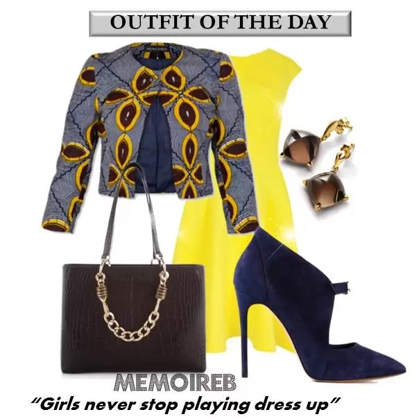 ANKARA OUTFIT OF THE DAY 1