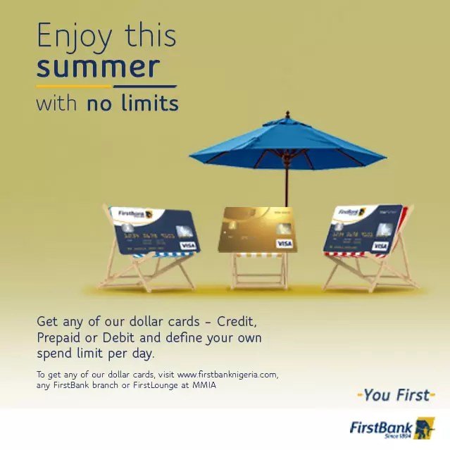 Enjoy Your Summer with FirstBank Dollar Denominated Cards 2