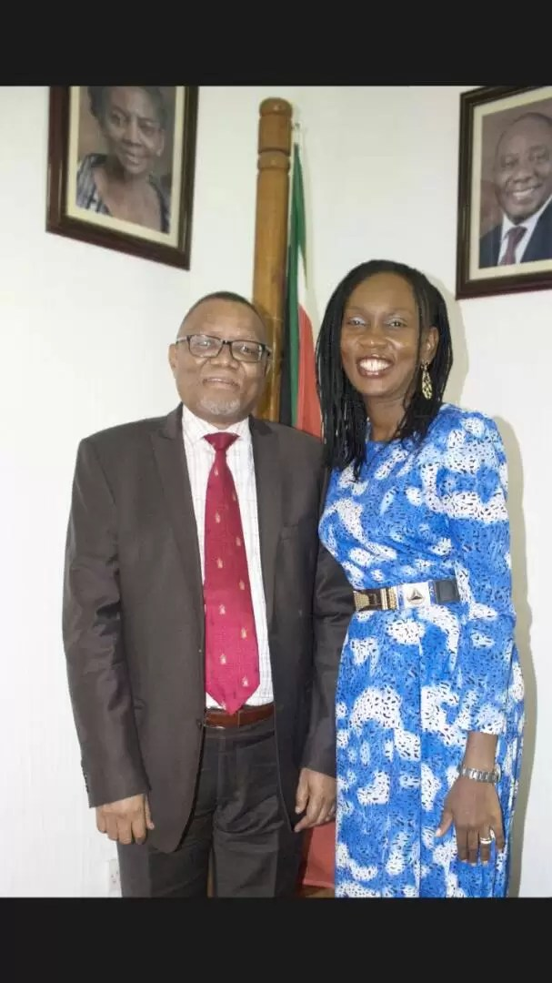 EMNews - SOUTH AFRICA AMBASSADOR PLAYS HOST TO MRS NIGERIA UNIVERSE QUEEN. 14