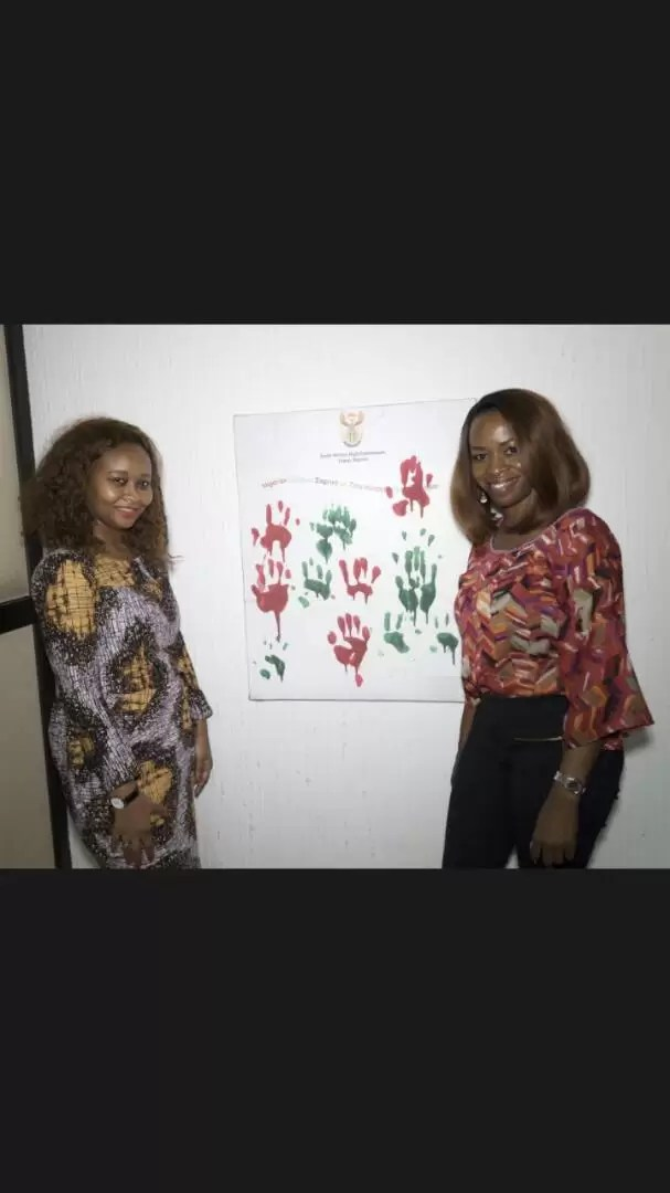 EMNews - SOUTH AFRICA AMBASSADOR PLAYS HOST TO MRS NIGERIA UNIVERSE QUEEN. 11