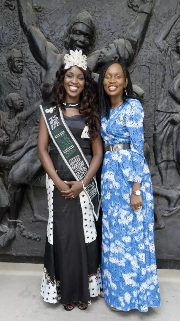 EMNews - SOUTH AFRICA AMBASSADOR PLAYS HOST TO MRS NIGERIA UNIVERSE QUEEN. 2