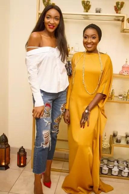EMNews - Osas Ighodaro, Idia Aisien, Maria Okan, attend the Mai-Saa Northern beauty spa launch. 48