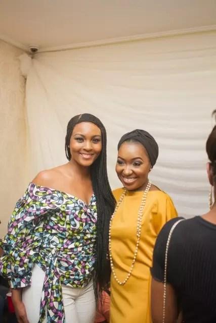 EMNews - Osas Ighodaro, Idia Aisien, Maria Okan, attend the Mai-Saa Northern beauty spa launch. 42