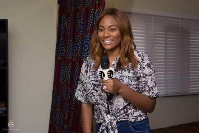 EMNews - Osas Ighodaro, Idia Aisien, Maria Okan, attend the Mai-Saa Northern beauty spa launch. 30