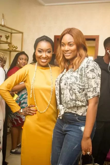EMNews - Osas Ighodaro, Idia Aisien, Maria Okan, attend the Mai-Saa Northern beauty spa launch. 31