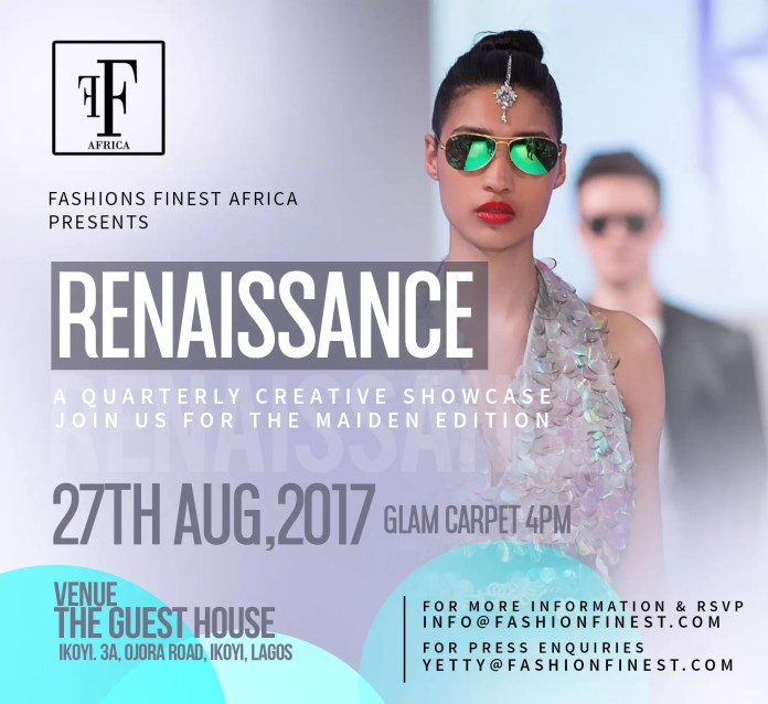 EVENTS - FASHIONS FINEST AFRICA RENAISSANCE INTRODUCES  THE FAB FOUR DESIGNERS FOR HER FORTHCOMING EVENT 1