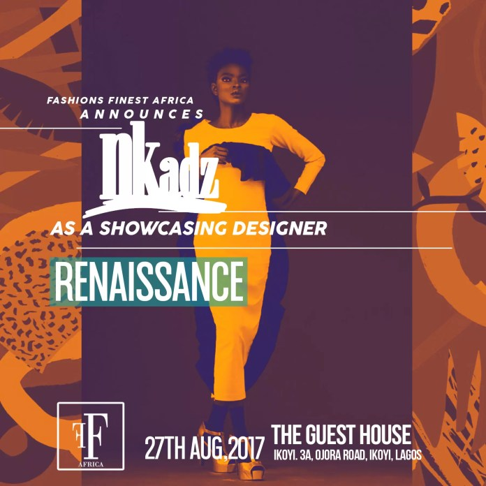 EVENTS - FASHIONS FINEST AFRICA RENAISSANCE INTRODUCES  THE FAB FOUR DESIGNERS FOR HER FORTHCOMING EVENT 5