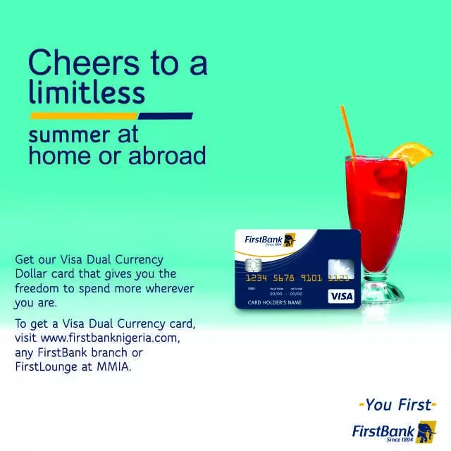Enjoy Your Summer with FirstBank Dollar Denominated Cards 3