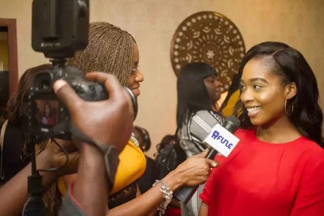 EMNews - Osas Ighodaro, Idia Aisien, Maria Okan, attend the Mai-Saa Northern beauty spa launch. 32