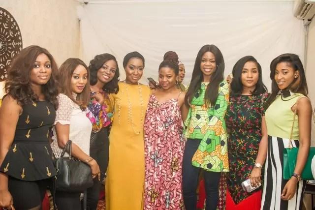EMNews - Osas Ighodaro, Idia Aisien, Maria Okan, attend the Mai-Saa Northern beauty spa launch. 29