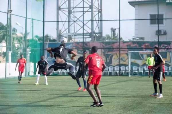 PHOTOS FROM THE HOW FOUNDATION BLUE-STATE CHARITY FOOTBALL MATCH 6
