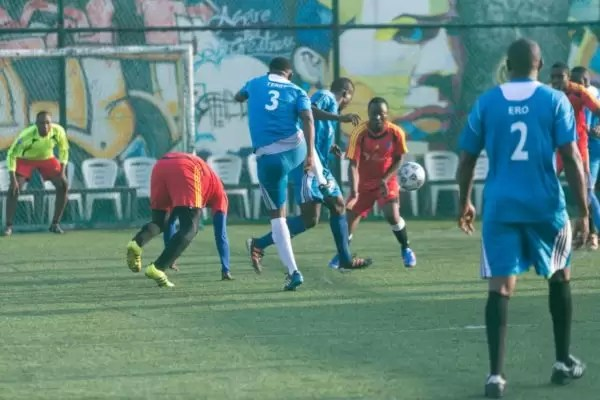 PHOTOS FROM THE HOW FOUNDATION BLUE-STATE CHARITY FOOTBALL MATCH 2
