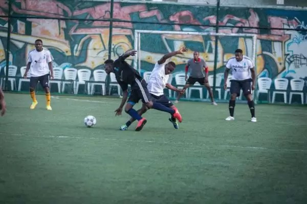 PHOTOS FROM THE HOW FOUNDATION BLUE-STATE CHARITY FOOTBALL MATCH 9