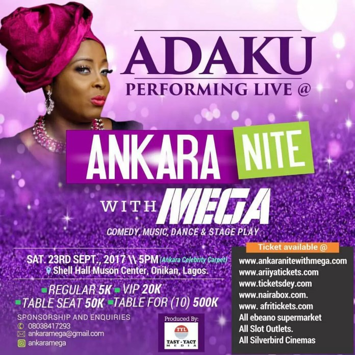 Ankara Nite with Mega 2