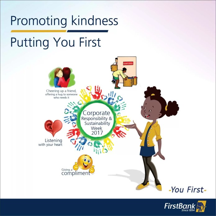 FirstBank Celebrates Corporate Responsibility and Sustainability Week: Promoting Random Acts of Kindness 1