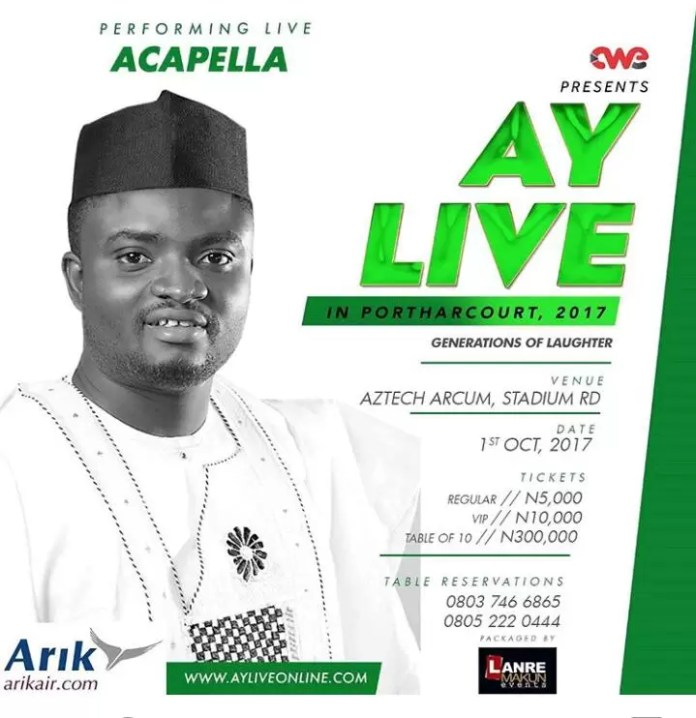 AY Live in Port Harcourt 3