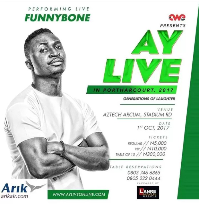 AY Live in Port Harcourt 2