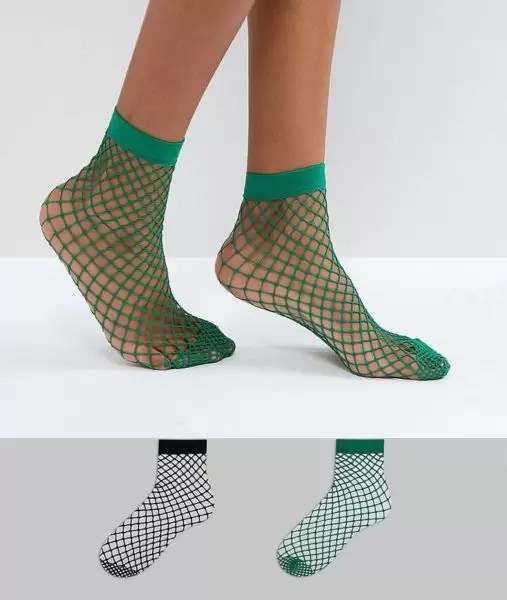 EM STYLE (Feet Fetish): FISHNET SOCK(S) 6