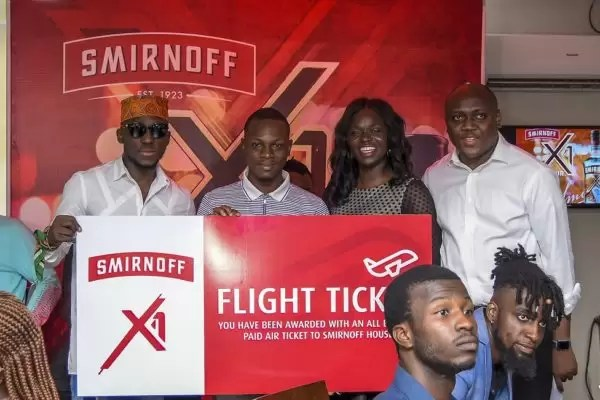 8 PARTIES. 7 CITIES. 1 TOUR: SMIRNOFF ANNOUNCES NONSTOP EPIC NIGHTS WITH THE SMIRNOFF X1 TOUR 12