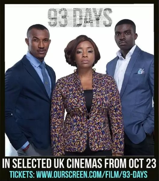 #93DaysMovie showing in selected UK cinemas 2