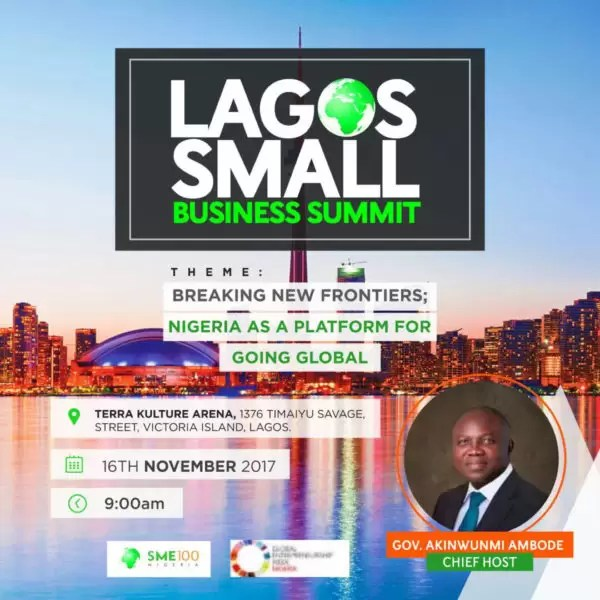 LAGOS SMALL BUSINESS SUMMIT 2017 1