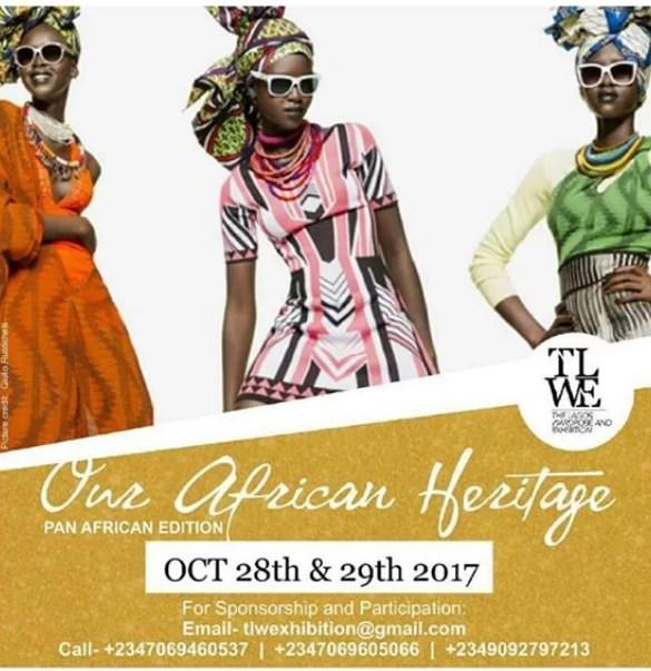 The Lagos Wardrobe Exhibition (TLWE) 1