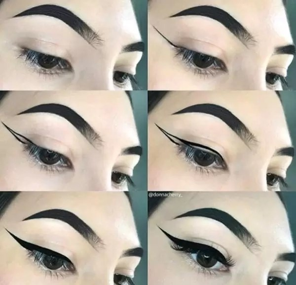 Manicure and Makeup monday- carved brows 3