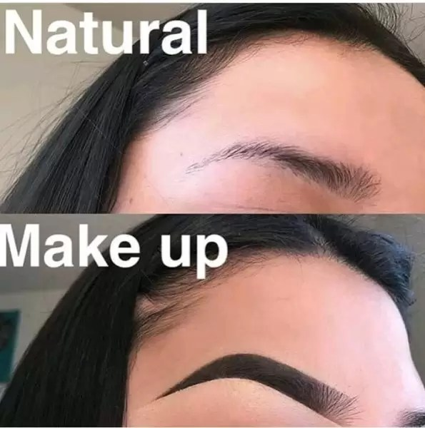 Manicure and Makeup monday- carved brows 5