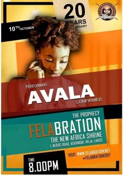 Felabration2017- Davido cancels performance 11