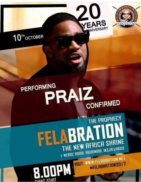 Felabration2017- Davido cancels performance 7