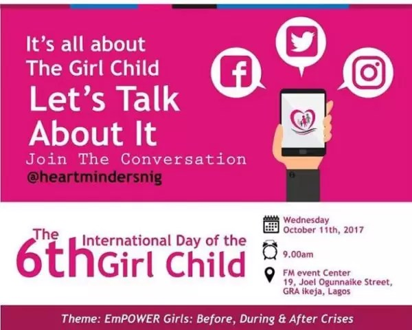 International Girl Child Day-  Empower Girls: Before, During and After Crisis 4