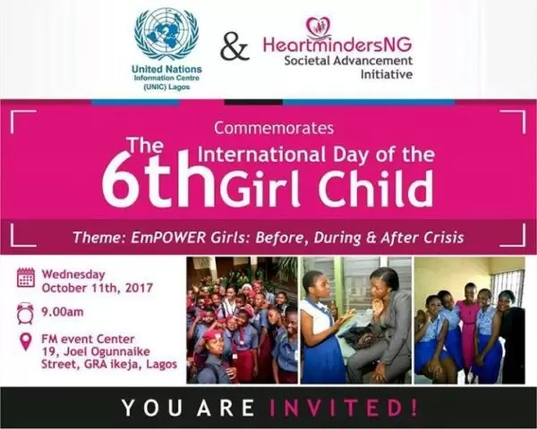 International Girl Child Day-  Empower Girls: Before, During and After Crisis 6